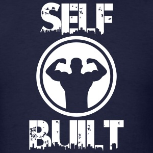 Self Built Workout Shirt - Men's T-Shirt