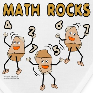 Math Rocks  Caps - Bandana