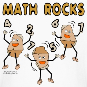 Math Rocks  Kids' Shirts - Kids' Long Sleeve T-Shirt