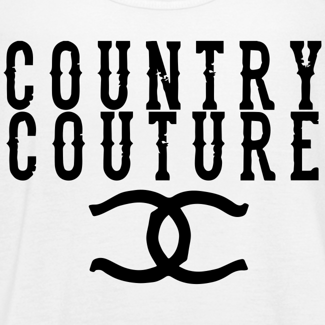Country Couture Flowy Tank