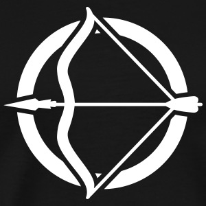 bow and arrow T-Shirts - Men's Premium T-Shirt
