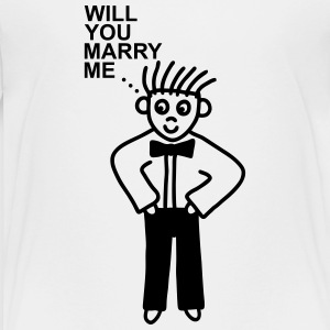 Married - marry me Kids' Shirts - Kids' Premium T-Shirt
