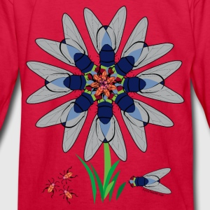 Flower Illusion  Kids' Shirts - Kids' Long Sleeve T-Shirt