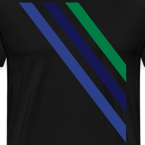 diagonal T-Shirts - Men's Premium T-Shirt