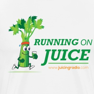 Running on Juice with illustration: Men's T-Shirt - Men's Premium T-Shirt