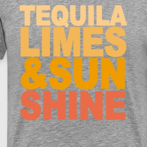 tequila_limes_and_sun_shine_m - Men's Premium T-Shirt