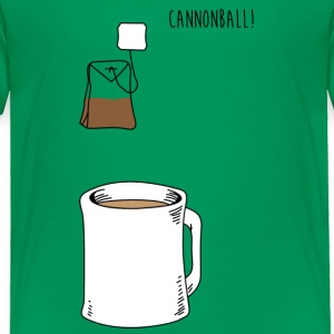 Cannonball Tea Apparel Clothing Shirts Baby & Toddler Shirts - Toddler Premium T-Shirt