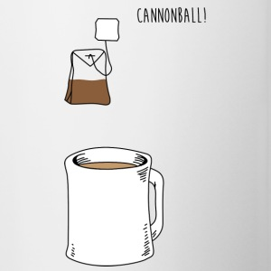 Cannonball Tea Apparel Clothing Shirts Bottles & Mugs - Contrast Coffee Mug