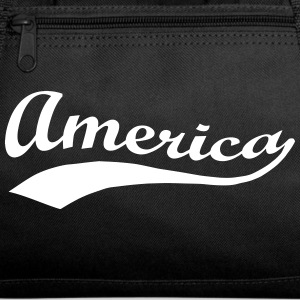 America Patriotic Script Bags & backpacks - Duffel Bag