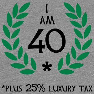 50 - 40 plus tax Women's T-Shirts - Women's Premium T-Shirt