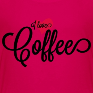 I Love Coffee Apparel Clothing Shirts Kids' Shirts - Kids' Premium T-Shirt