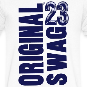 ORIGINAL SWAG 23 T-Shirts - Men's V-Neck T-Shirt by Canvas