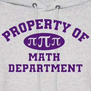 Property Of Math Department Hoodie - Men's Hoodie