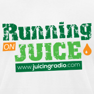 Design ~ Running on Juice: Men's Fitted T-Shirt