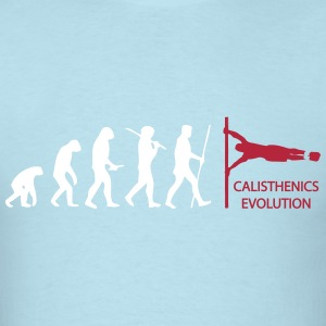 Calisthenics Human Flag Evolution  T-Shirts - Men's T-Shirt