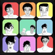 Design ~ 1D - Liam's Selfies