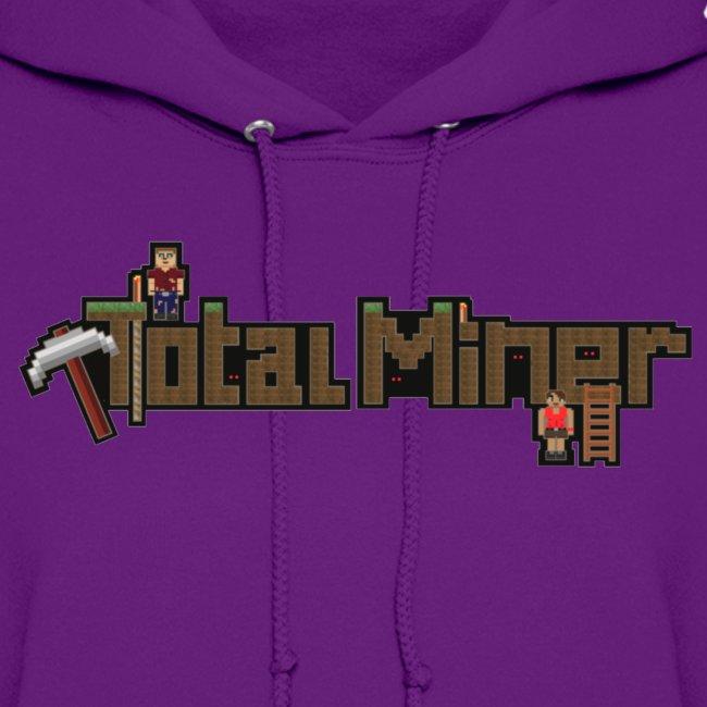 Total Miner Logo Women's Hoodie