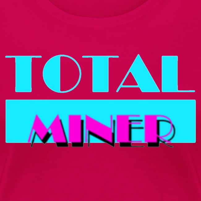Total Miner Miami Vice Parody Logo Women's Premium T-Shirt