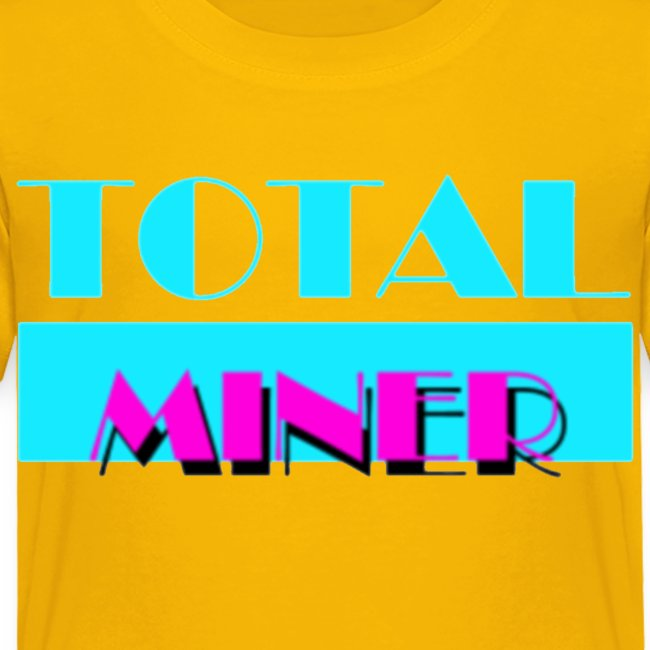 Total Miner Miamia Vice Parody Toddler T-Shirt