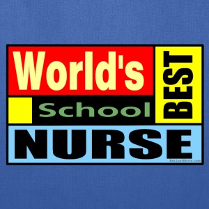 World's Best School Nurse Bags & backpacks - Tote Bag
