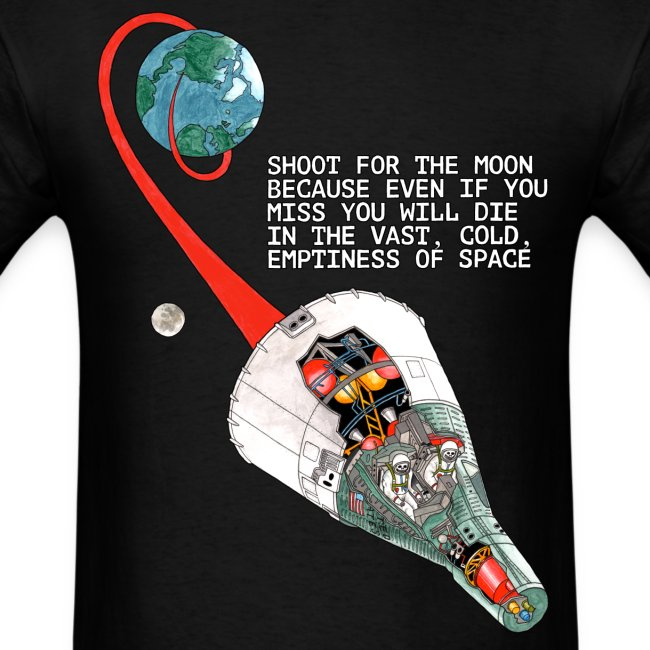 Shoot For The Moon - Gildan T-Shirt