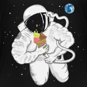 Astronaut with ice cream cone  Baby & Toddler Shirts - Toddler Premium T-Shirt