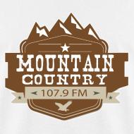 Design ~ $15 Mountain Country 107.9 Men's Basic T-Shirt