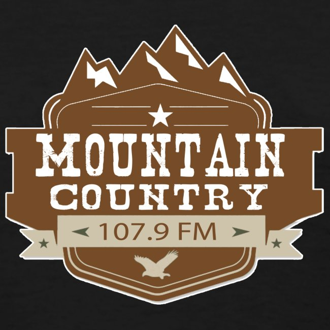 $15 Mountain Country 107.9 Ladies Basic T-Shirt