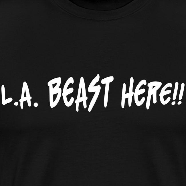 L.A. BEAST HERE!! white