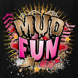 Mud Fun Girls Kids' Shirts - Kids' T-Shirt