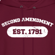 Design ~ Hooded Sweater: Second Amendment