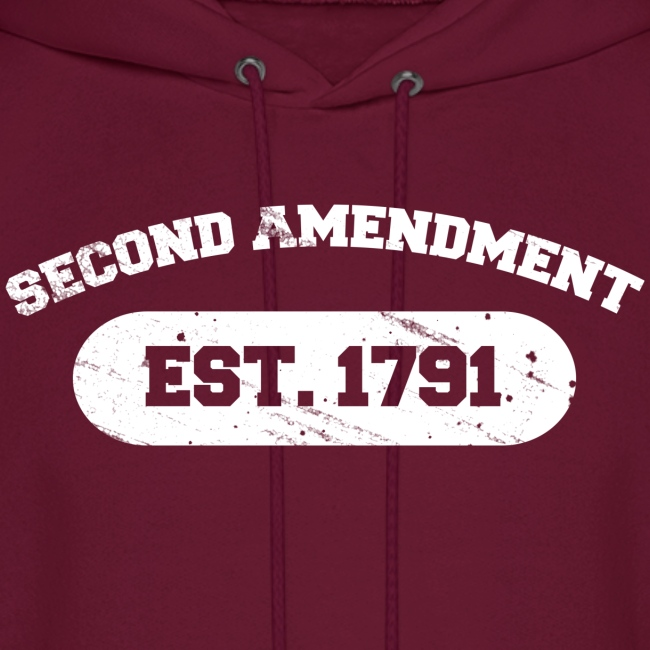 Hooded Sweater: Second Amendment