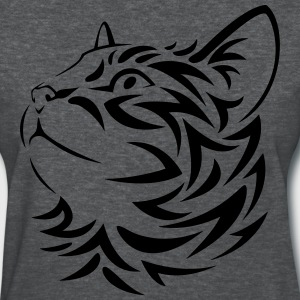 Tribal Cat - Women's T-Shirt