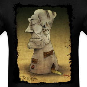 The Totem Building Tshirt - Men's T-Shirt