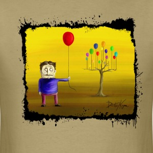Balloon Tree Tshirt - Men's T-Shirt