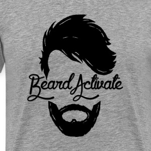 """Beard Activate!"" - Men's Premium T-Shirt"