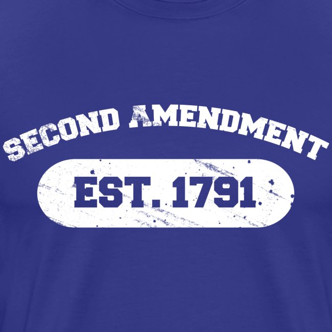 Premium Tee: Second Amendment