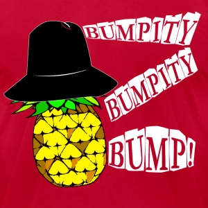 Shifty Pineapple - Men's T-Shirt by American Apparel