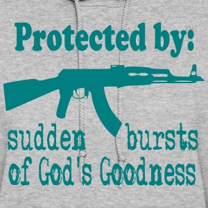 Protected By: Sudden Bursts of God's Goodness Hoodies - Women's Hoodie
