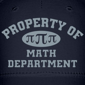 Property Of Math Department Cap - Baseball Cap