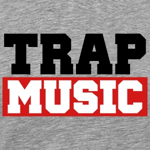 TRAP MUSIC - BASS PARTY T-Shirts - Men's Premium T-Shirt