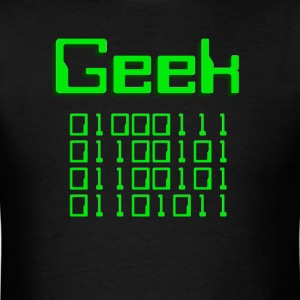 Binary Geek T-Shirts - Men's T-Shirt