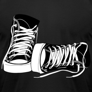 High tops - Men's T-Shirt by American Apparel