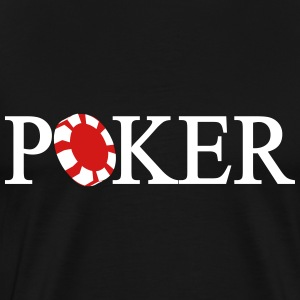 Poker Chip T-Shirts - Men's Premium T-Shirt