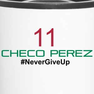 ChecoHorizontal-01 Bottles & Mugs - Travel Mug