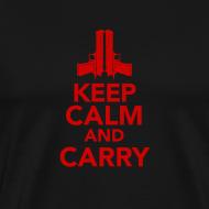 Design ~ Premium Tee: Keep Calm