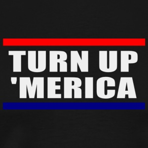 TURN UP MERICA | AMERICAN PRIDE - Men's Premium T-Shirt