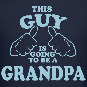 This Guy is Going to be a Grandpa Long Sleeve Shirts - Crewneck Sweatshirt