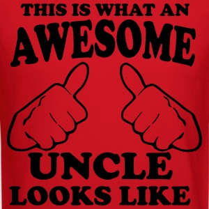 This is What an Awesome Uncle Looks Like Long Sleeve Shirts - Crewneck Sweatshirt