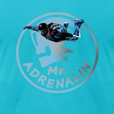 Mr  Adrenalin Skydive T-Shirts